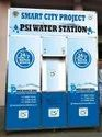 Water Vending Machine 500 LPH RO 1 ton Chiller With Atm