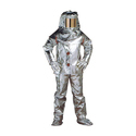 Two Piece Full Body Aluminized Suit