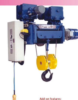 Indef, AS Any Compact Wire Rope Hoist Make Indef (1.5 Tonx12 Mtr ...