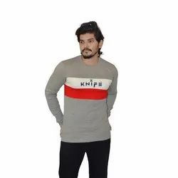 Knife Printed Men Round Or Crew Multi Color T-Shirt