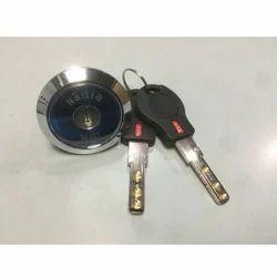 114 High Security Almirah Black Key