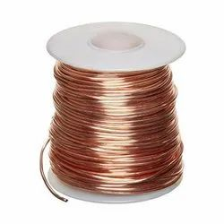 Electrolytic Bare Copper Wire, Thickness: 0.1 mm To 8 mm