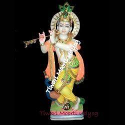 Marble Krishna Statue Iskcon Krishna Moorti Manufacturer