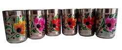 Flower Look Glass Set