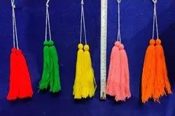 Colorful Woolen Tassel Hanging Wedding Decorations