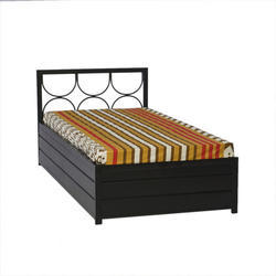 Wrought Iron Box Bed