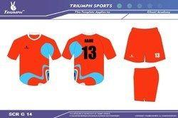 Custom Soccer T Shirt