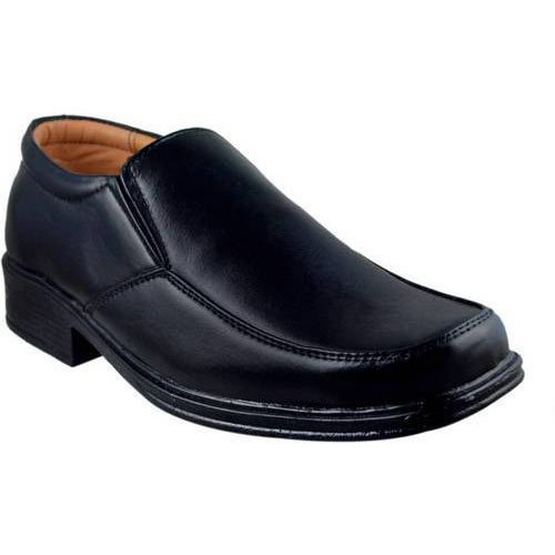 Mens Black Formal Leather Shoe, Rs 500
