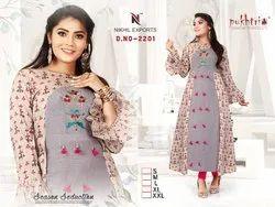 Fancy Designer Ladies Kurti -D No 2201