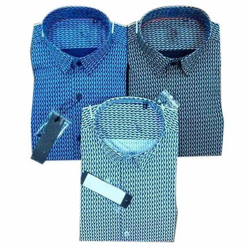33d882cc Zara Man Cotton Mens Partywear Printed Shirt, Rs 400 /piece | ID ...