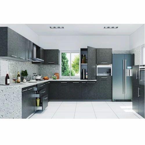 Livspace Tessa L Shaped Kitchen