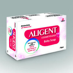Aligent Cosmetology Aloevera & Shea Butter Syndet Base Baby Soap