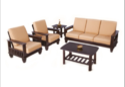 Nilkamal Wood Manhattan Sofa Set