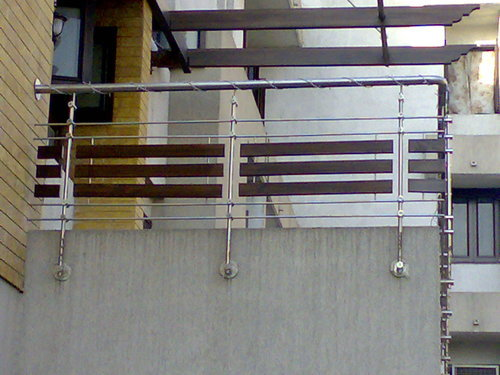 Bar Pipe Stainless Steel Balcony Rail Rs 500 Running Feet Shree