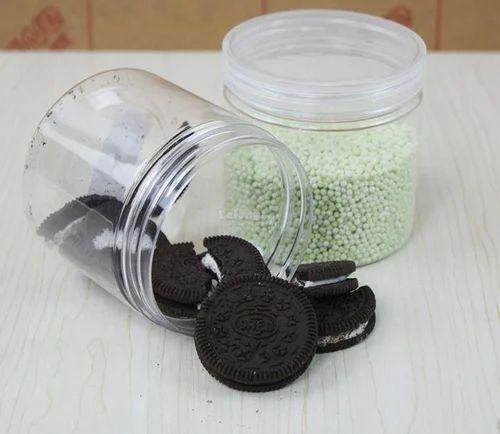 Plain White Cookies Jar, Capacity: 1 kg