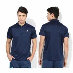 Cotton Adidas Men Polo T-shirts