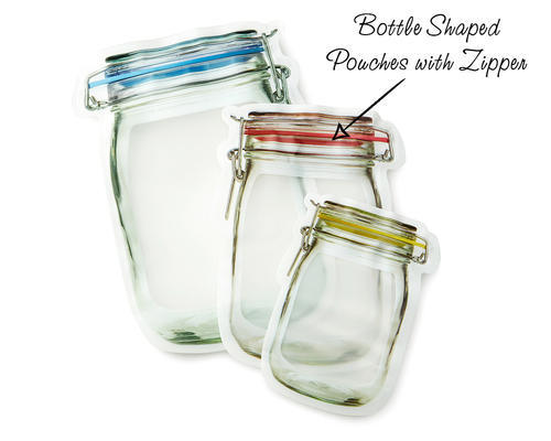 Bottle Shaped Pouches, Thickness : 0.5 Mm, Rs 1 /piece Swiss Pac Private  Limited | ID: 20019489497