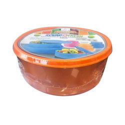 Plastic Plastic Container, Capacity: 700 Ml, Also Available In 1000ml, 1500, 2500 Ml