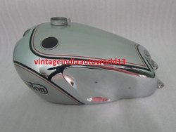 New Norton Dominator Model 7 Chromed And Painted Gas Fuel Petrol Tank (Reproduction)