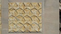 Teakwood Sandstone Wall Decoration