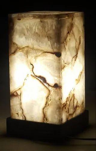 White Agate Lamp