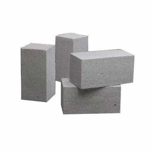 Light Weight Blocks, Size: 12 In. X 4 In. X 2 In., for Side Walls