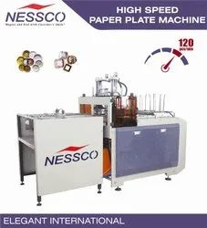 NESSCO HIGH SPEED PAPER PLATE MACHINE, Production Capacity: 120 Pcs/Min