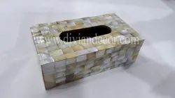 Palatial Mother of Pearl Tissue Box