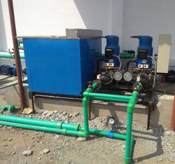 Fully Automatic Two Phase Steel Air Cooled Chiller