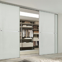 Sliding Door Glass Wardrobe