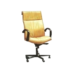Pu And Steel Yellow High Back Chair Hb105 Rs 3500 Piece Id