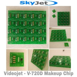 SkyJet - VideoJet - V-720D Makeup Chip