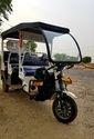 Covered Electric Rickshaw