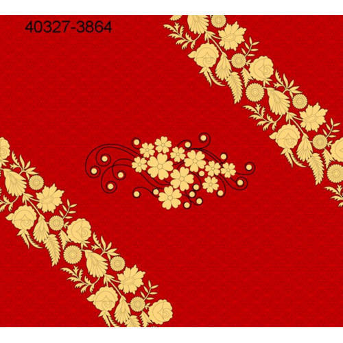 59fa1a5a99 40327-3864 Flower Printed Ladies Cotton Gown Material, GSM: 100-150 ...