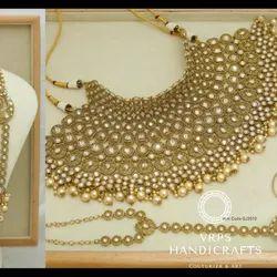 Golden Indian Jewellery Set