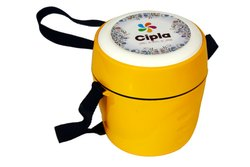 Yellow Promotional Plastic Lunch Box