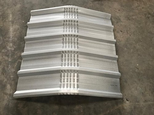 Stainless Steel Crimp Curved Roofing Sheet Rs 370 Square Meter Shri Balaji Roofing Id 9642448848