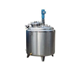 Stainless Steel Reactor Vessel, Capacity: 20-100 L