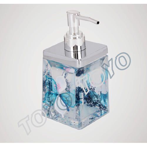Liquid Soap Dispensers Acrylic Soap Dispenser, Capacity: 1 Liter, For  Bathroom