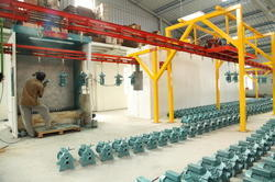 Conveyor Type Paint Booths
