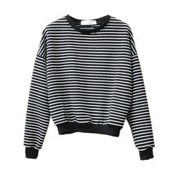 Women Cotton Round Neck Sweatshirt