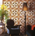 Glass Mosaic Interiors Tiles