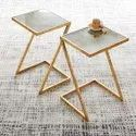 PVD Coated Side Table