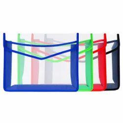 Paribhasha Plastic A4 Envelope Transparent File Folder
