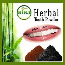 BISJ Herbal Tooth Powder, Packaging Size: 13gram-1Kg
