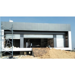 Commercial ACP Panel Cladding Work