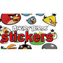 Multicolor Cartoon Adhesive Sticker, Packaging Type: Packet
