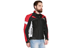 Sprint Red Motorcycle Jacket