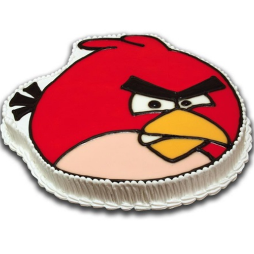 Angry Bird Shape Cake At Rs 2100 Kilogram