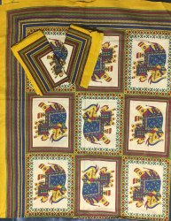 Traditional Jaipuri Printed Bedsheet